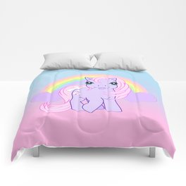 g1 my little pony baby lickety split Comforters
