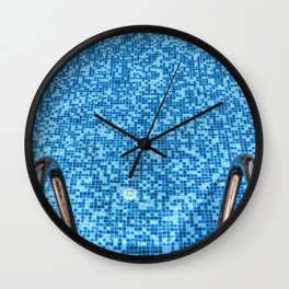 Summer Swimming Pool Wall Clock