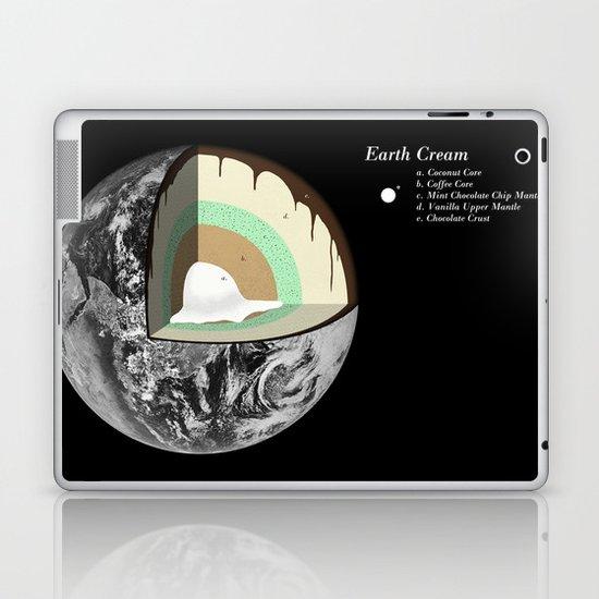 Earth Cream Laptop & iPad Skin