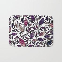 Floral Illustration - Leaf - No*45 Bath Mat
