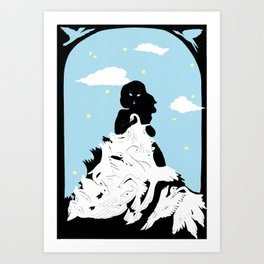 The Bird Eaters Art Print