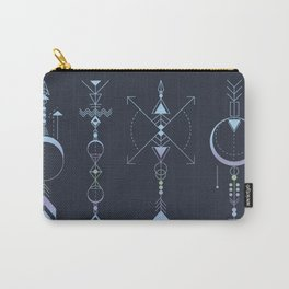 Geometric Arrows - Native American Sioux Carry-All Pouch