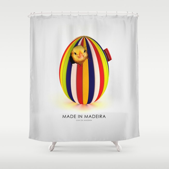 MADE IN MADEIRA - Just For Fun Shower Curtain by gonnacreative ...