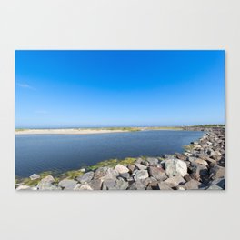 Wildwoods lake Canvas Print