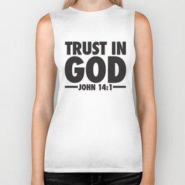 Trust in God Biker Tank