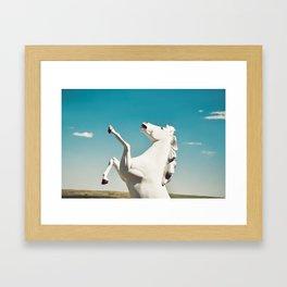 Guardian of the Plains Framed Art Print