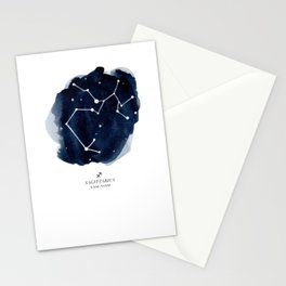 Zodiac Star Constellation - Sagittarius Stationery Cards
