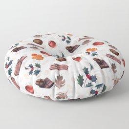 Christmas morning Floor Pillow