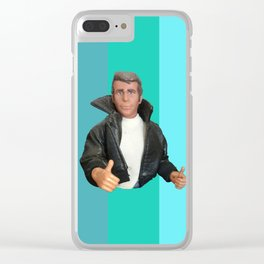 Cool Points - cool colors Clear iPhone Case