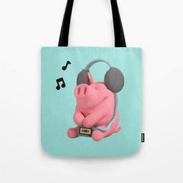 Rosa the Pig WalkMan Tote Bag