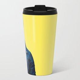 Robert Downey Jr - Low Poly Vector Art Travel Mug