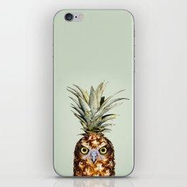 PINEAPPLE OWL iPhone Skin