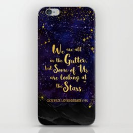 Wilde - Looking At The Stars iPhone Skin