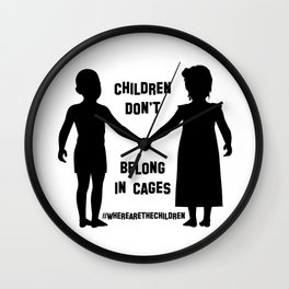 Where Are The Children? Wall Clock