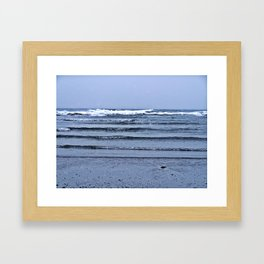 Stairway to the Sea Framed Art Print
