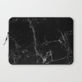 Marble, Print, Minimal, Scandinavian, Abstract, Pattern, Modern art Laptop Sleeve
