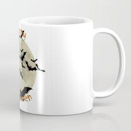 Happy Halloween  Bats and Haunting Moon Coffee Mug