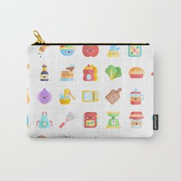 CUTE COOKING PATTERN Carry-All Pouch