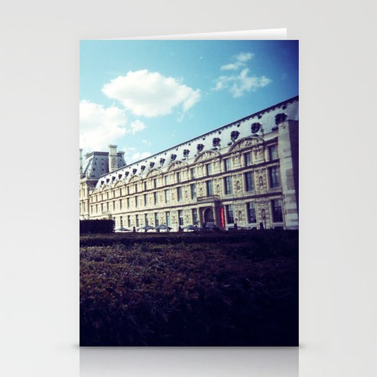 Louvre Gardens I Stationery Cards