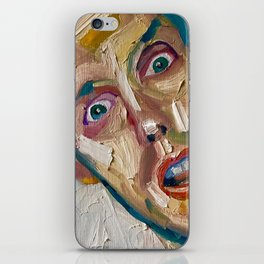 don't murder me iPhone Skin