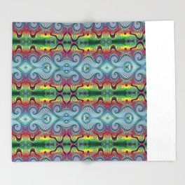 BBQSHOES: Wurburbo Digital Art Design Throw Blanket