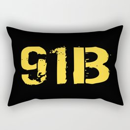 91B Mechanic Rectangular Pillow