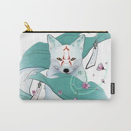 Frozen Kitsune Carry-All Pouch