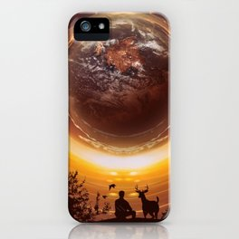 A WORLD OF PEACE iPhone Case