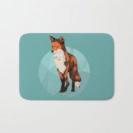 Ice Fox  Bath Mat
