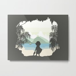 Links Awakening - Proceeds will go to Typhoon Haiyan Victims Metal Print