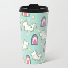 Cereal for Dinner - Unicorns Travel Mug