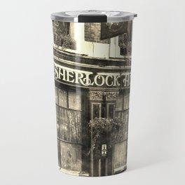 The Sherlock Holmes pub Vintage Travel Mug