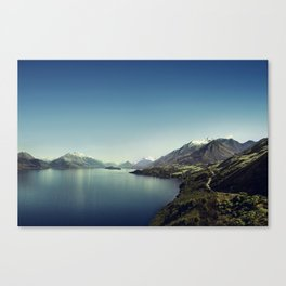 On my way to Glenorchy (Things happened to me) Canvas Print