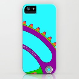 Psychedeli-Cat Chainring iPhone Case