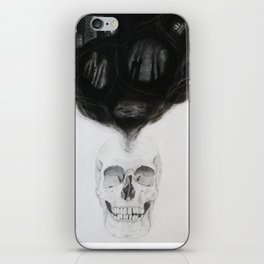 SKULL | The Persistence of Memory iPhone Skin
