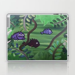 Bernard the Jungle Fish Laptop & iPad Skin