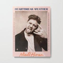 Heartbreak Weather Tour Print - Niall Horan, Metal Print