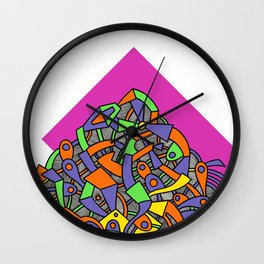 - the partial mask - Wall Clock
