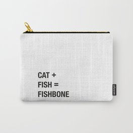 Cat + Fish Carry-All Pouch
