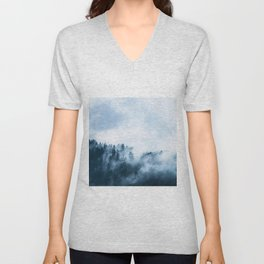 The Wilderness, Foggy Forest Unisex V-Neck