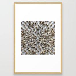 Fasten Together Framed Art Print