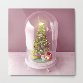 Xmas Decor Metal Print