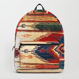 Aksaray Antique Cappadocian Turkish Kilim Print Backpack