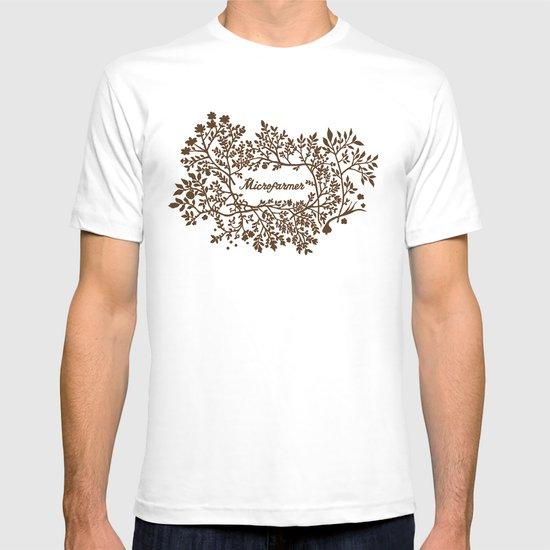 Microfarmer - Gold T-shirt