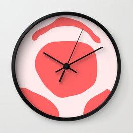 Pink Study No. 1 Wall Clock