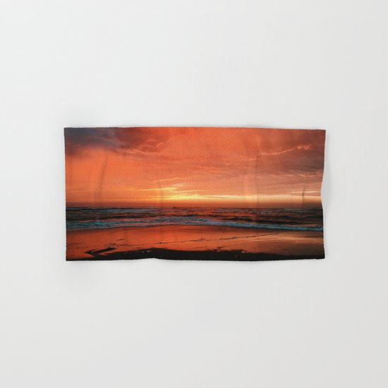 Ocean Waves #sunset Hand & Bath Towel