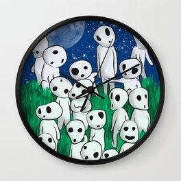 Tree's spirits Wall Clock