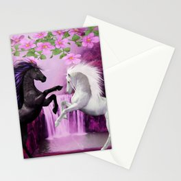 HORSES IN LOVE Stationery Cards