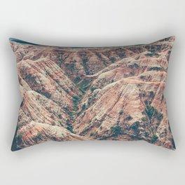 The Canyons (Color) Rectangular Pillow