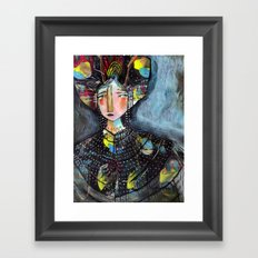 Hear My Story Framed Art Print